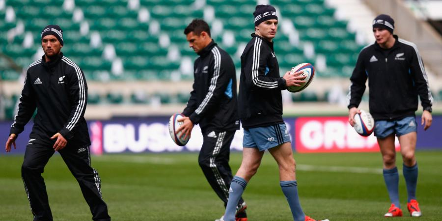 All Blacks Rugby World Cup Squad Series - First Five Eighth