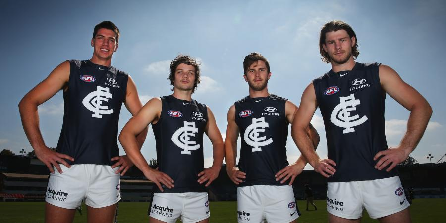 The sweet and sour of the AFL Drafts: Carlton Blues