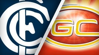 Carlton Blues vs. Gold Coast Suns LIVE!!!