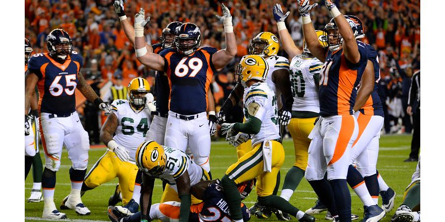Broncos, Manning take down one powerhouse - one more to go.