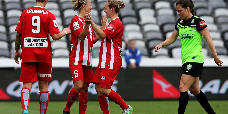 Melbourne City dominate in W-League
