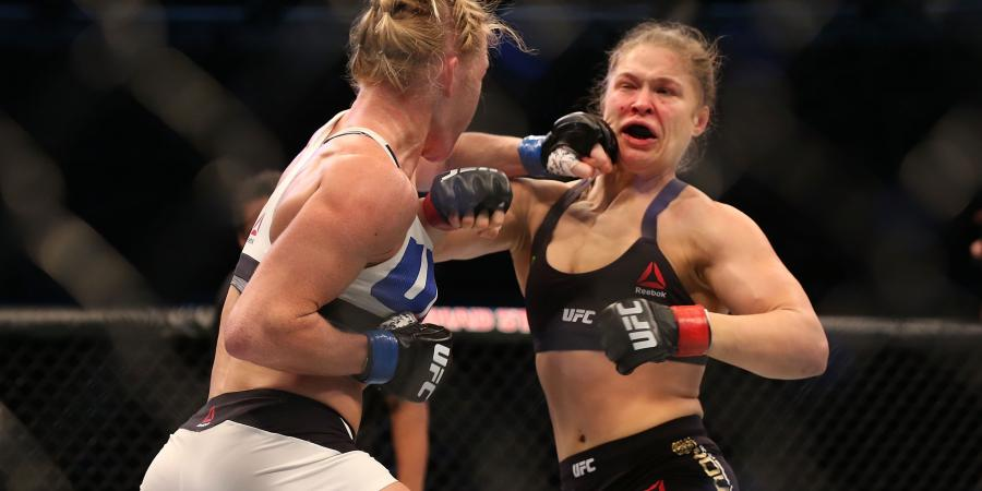 Holm KO's Rousey's UFC world title