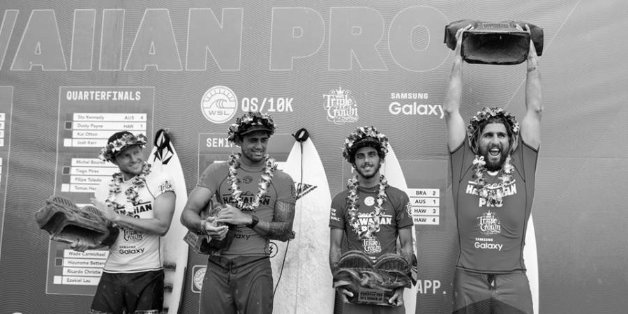 The surfers you'll be seeing more of in 2016 - Hawaiian Pro