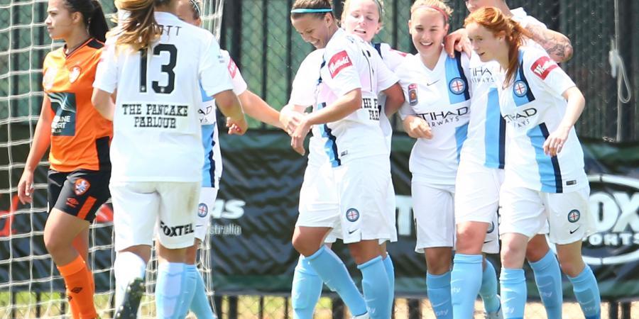 Free-scoring City extend W-League gap