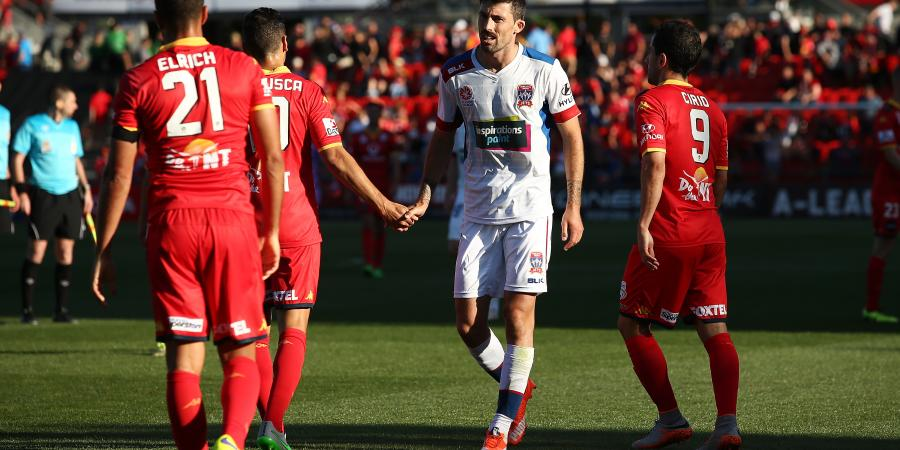 Adelaide draw with Newcastle in A-League