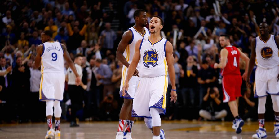 Golden State edge closer to history