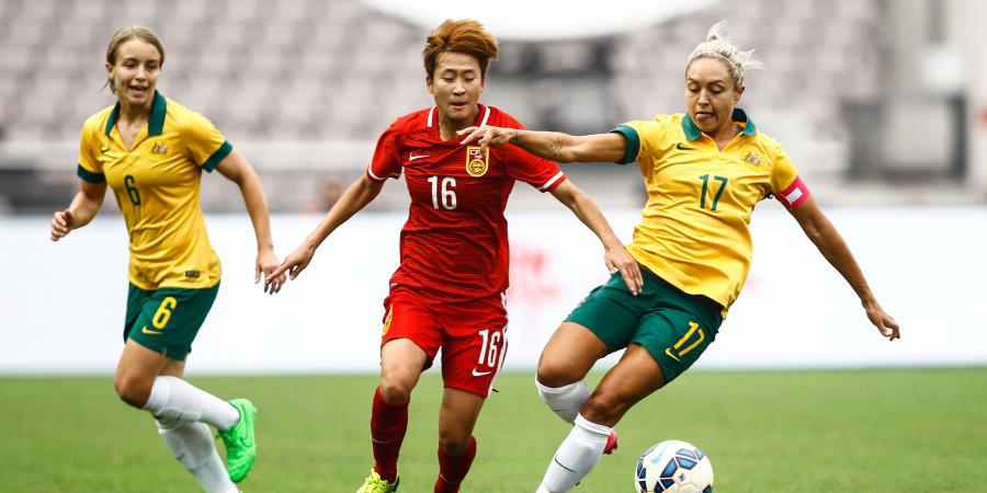 Matildas find range against Korea