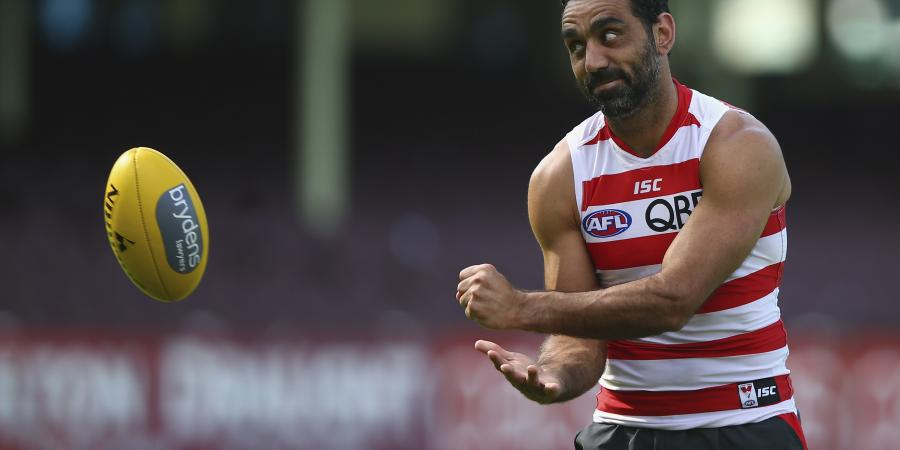 Goodes tipped to farewell game next week