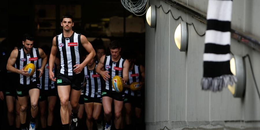 Collingwood Magpies Depth Chart (pre trade period)