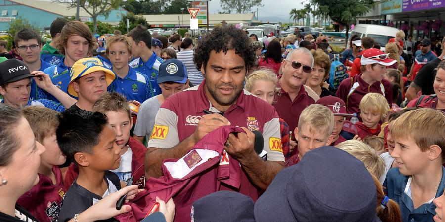 Broncos like Qld Origin team: Thaiday