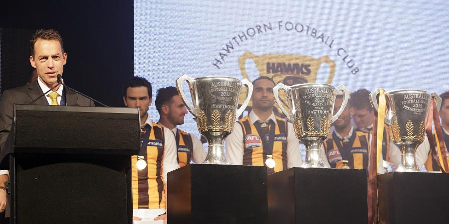 Clarkson joins the AFL greats