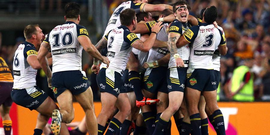 Thurston wins Cowboys the NRL grand final