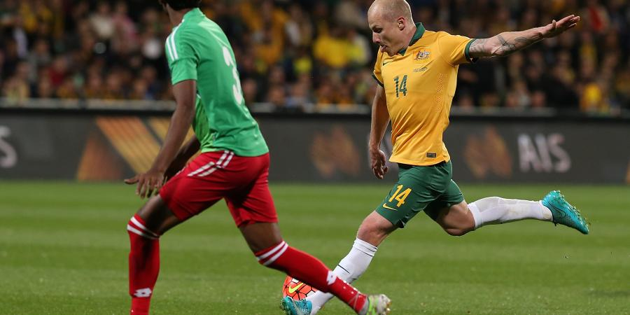Mooy, Elrich basking in Socceroos sun