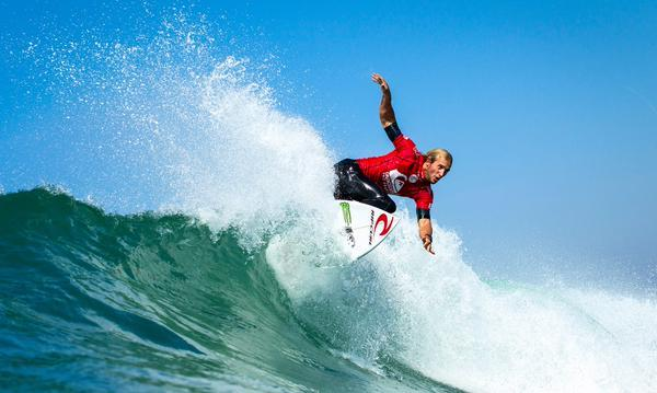 French waves mean unpredictable results - Quiksilver Pro France
