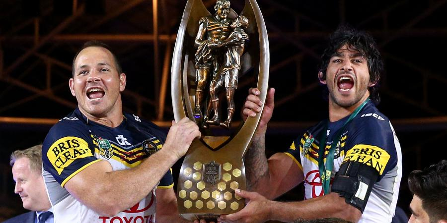 JT, Scott to lead Cowboys NRL trophy tour