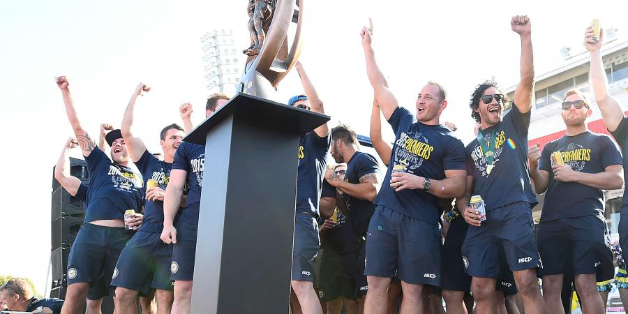 Cowboys players set for NRL trophy tour