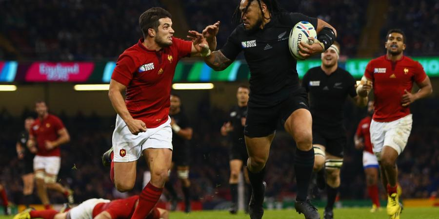 Savea hat-trick as All Blacks thump France