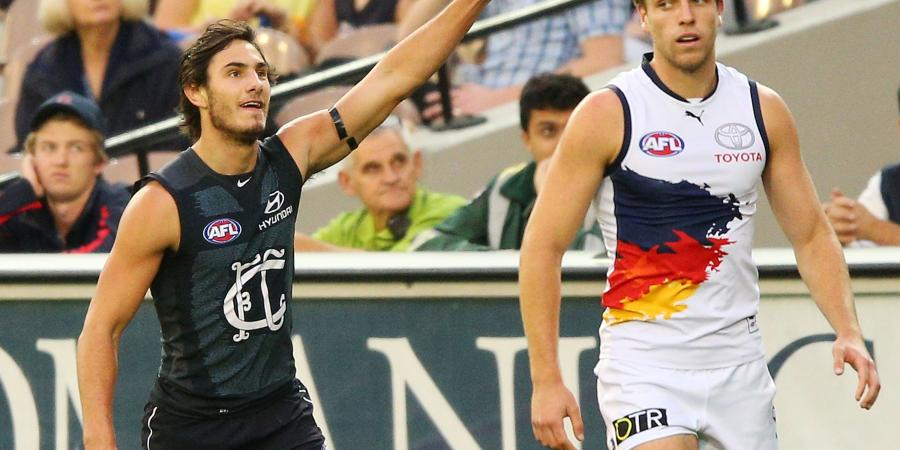 Adelaide Crows thrilled to sign Menzel