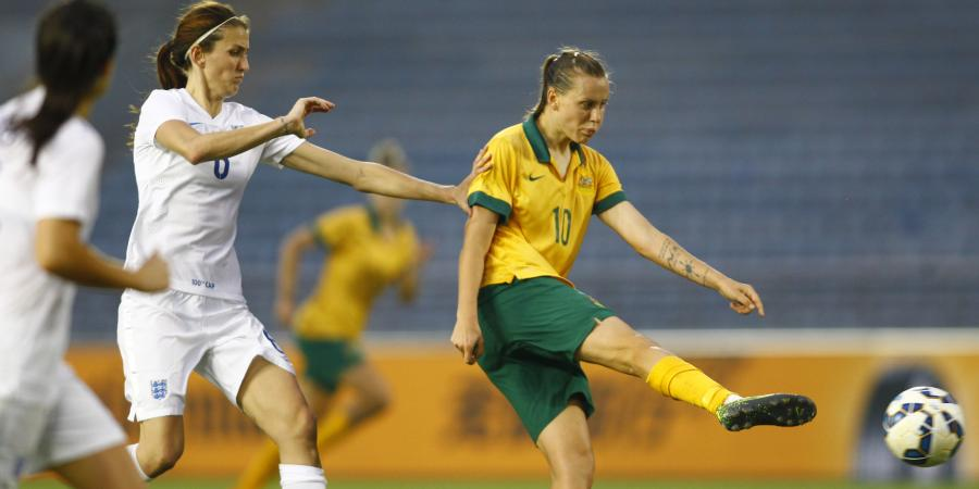 Matildas downed by England in China