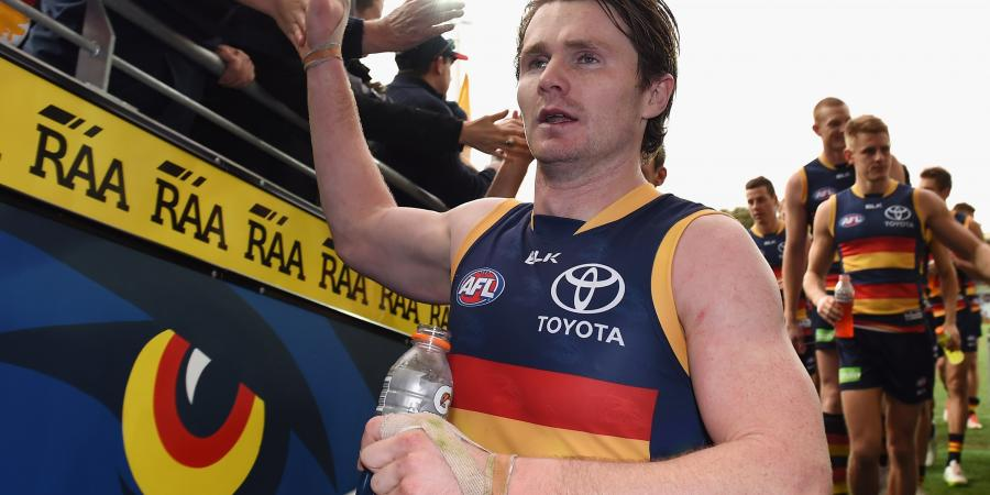 AFL Crows don't take Dangerfield bait