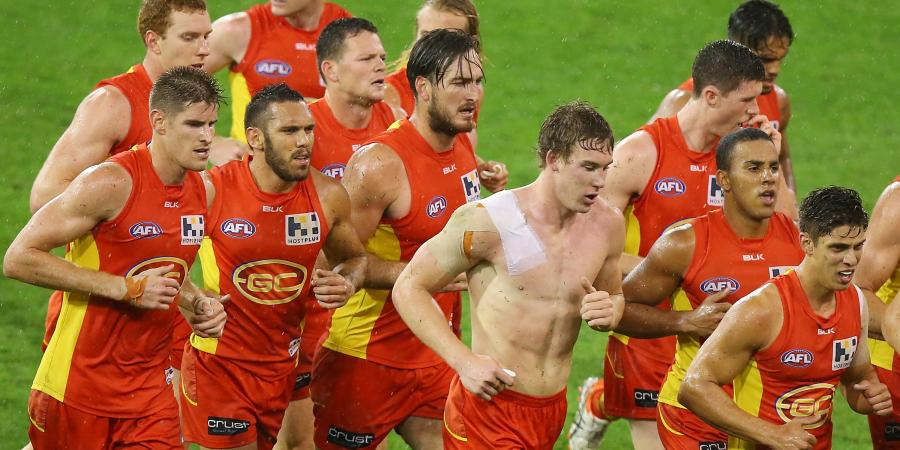 Party's over for AFL's Suns