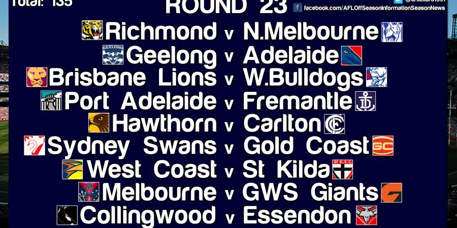 Tips For Round 23