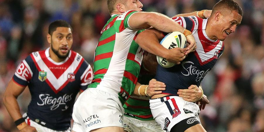 Red-hot Roosters smash Rabbitohs
