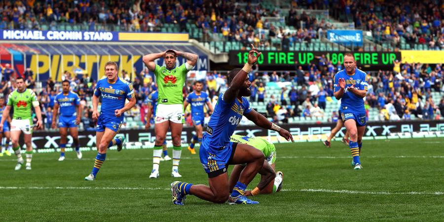 Match Report: Parramatta Eels vs Canberra Raiders