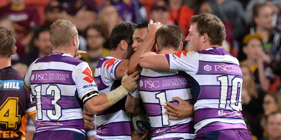 Storm have the wood on NRL finals rivals