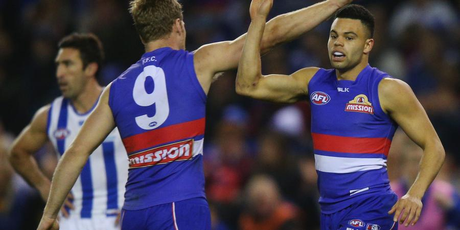 Dogs to miss key AFL duo