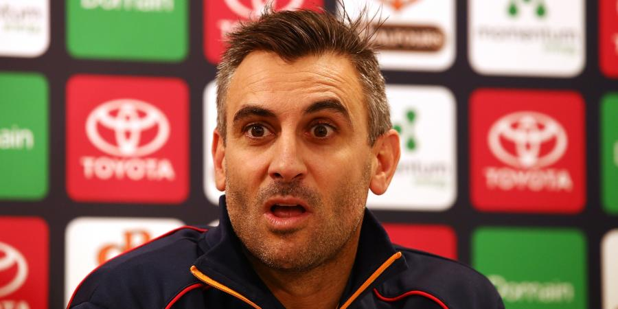 Campo growing confident as Crows AFL coach