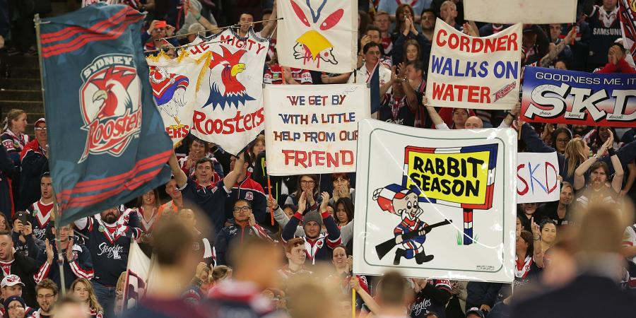 Roosters embrace NRL favourites tag