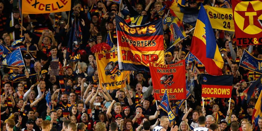 Walsh looms large in Crows AFL final win