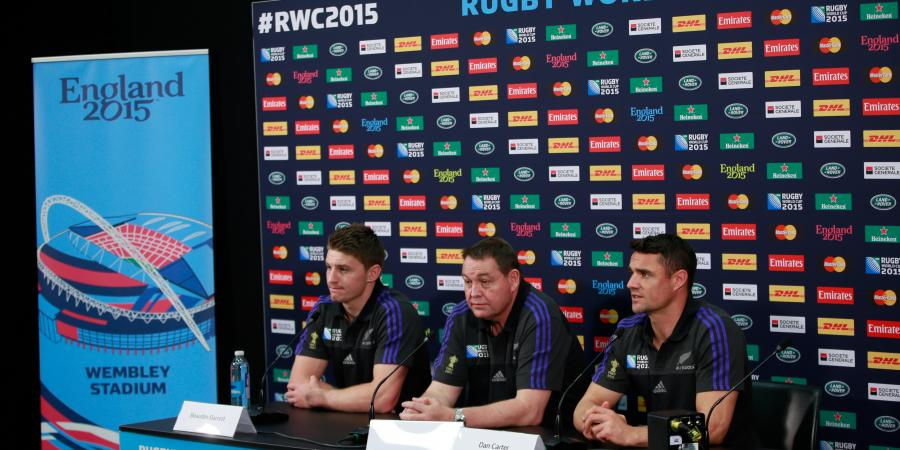 All Blacks welcome RWC favourites' label