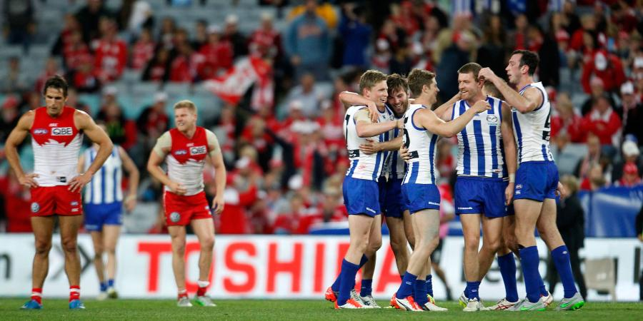 North not making up AFL numbers