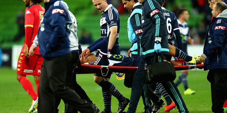Thompson stretchered off in FFA Cup win