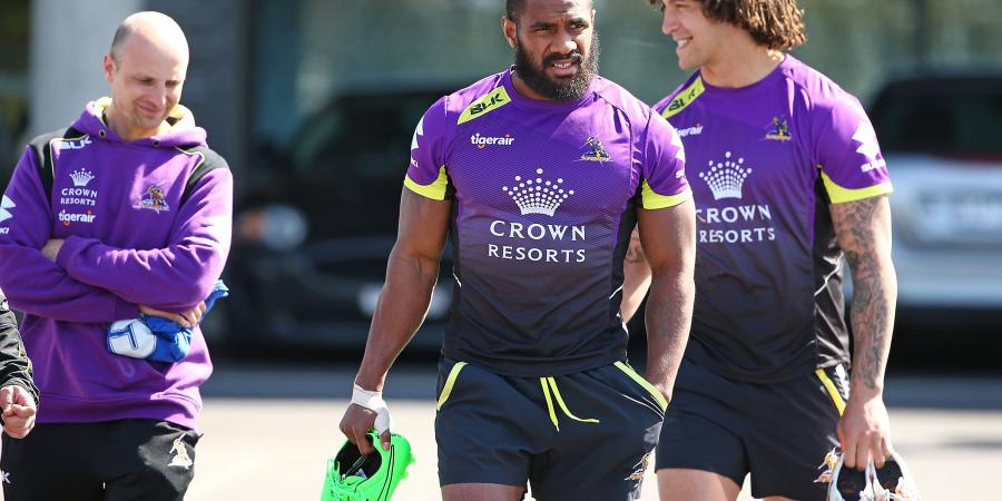 Rookie to fill in for Storm's Koroibete