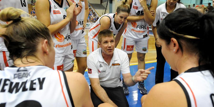 Lucas steps down as Townsville Fire coach