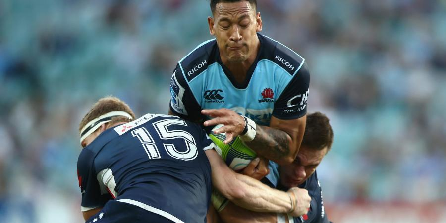 Folau named in centres for NSW Waratahs