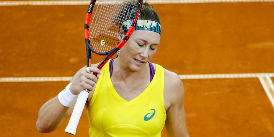 Stosur eyes French Open after Fed Cup loss