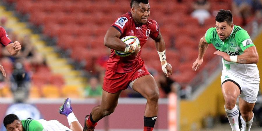 Kerevi double not enough for Qld Reds
