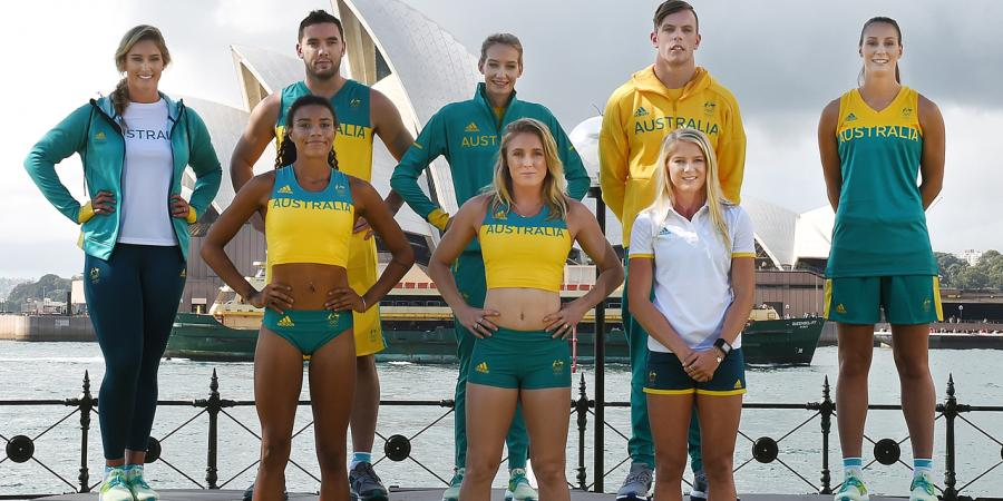 Aussies to look the part at Rio Olympics