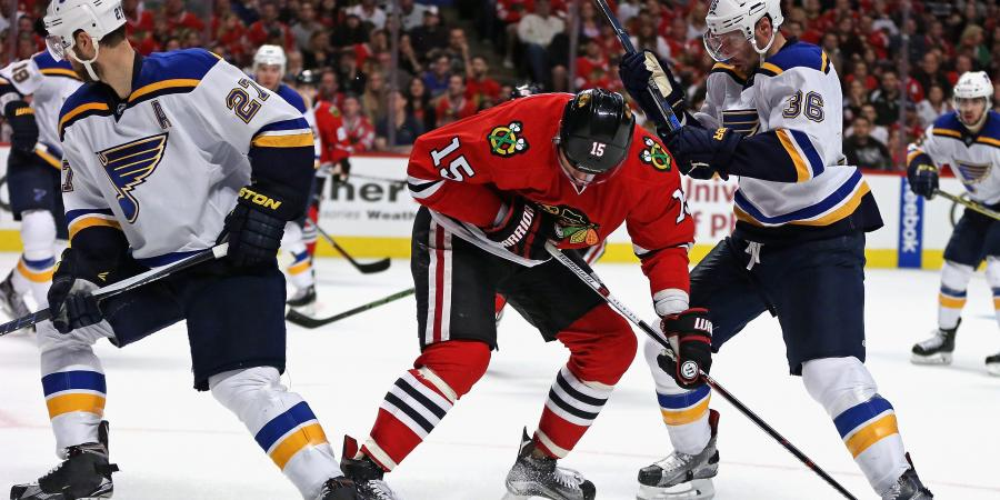 Will the Blackhawks and Rangers overcome the Blues and Penguins?