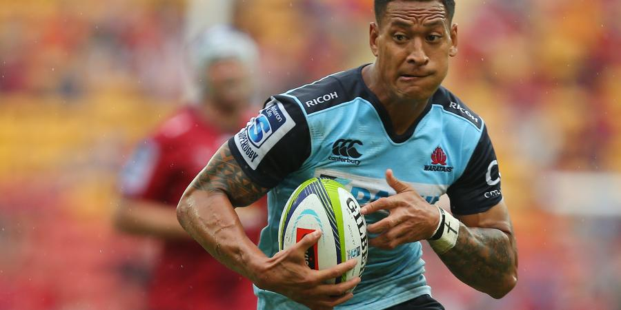 Winger backing Folau to turn it on