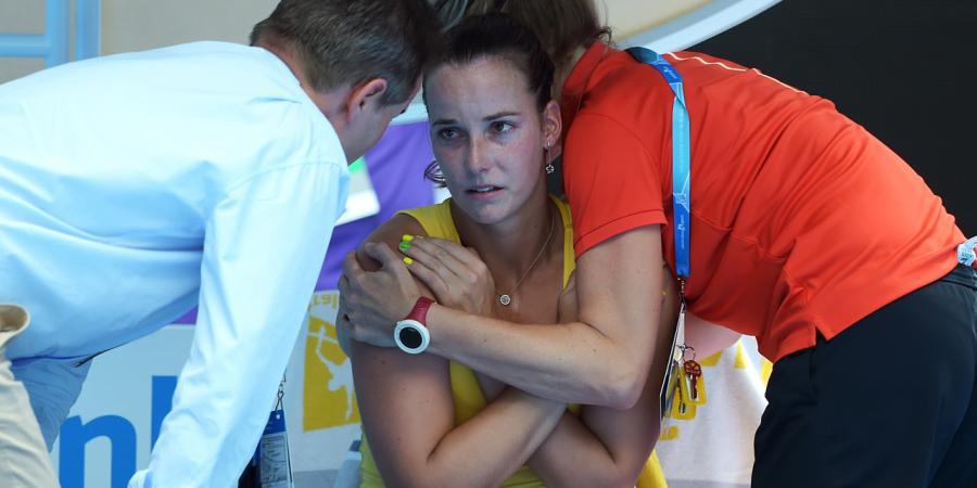 Jarmila Wolfe undergoes shoulder surgery