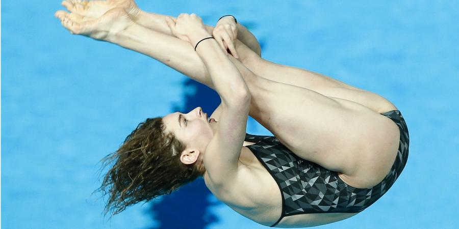 Keeney earns diving redemption