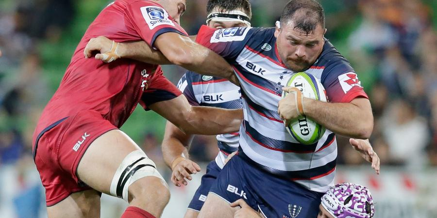 Melb lose hurt Weeks for Blues rugby clash