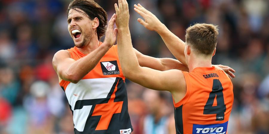 GWS star hurt ahead of big match with Hawthorn