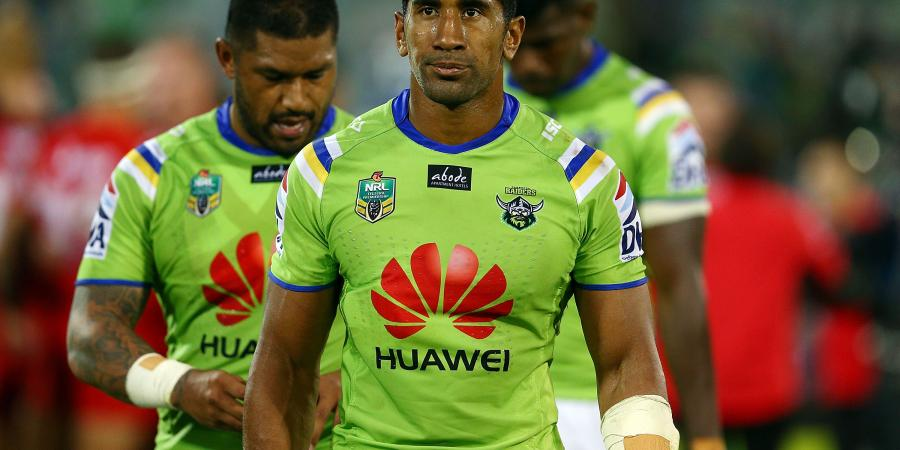 Raiders Soliola in new NRL deal until 2018