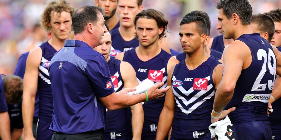 Dockers put on brave face despite gloom